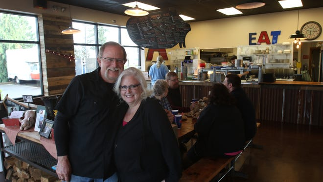 Mike and Katrina Adams had the soft opening for their second location for Adam's Rib Smokehouse on Feb. 29. The restaurant is having a grand opening celebration on April 1.