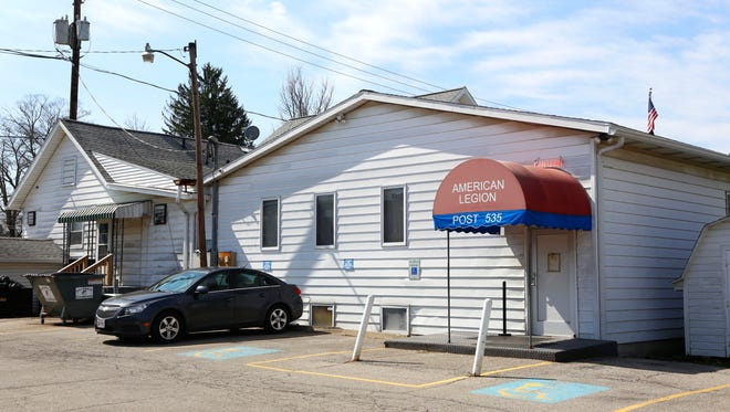The Bellville American Legion is at 77 Bell Street. Brian J. Smith / News Journal