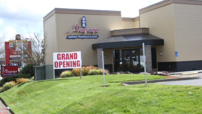 Nagoya Japanese Steakhouse and Sushi opened March 2, 2016 at 3760 Center St. NE in the space that formerly housed Red Robin.