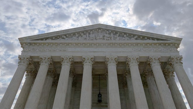 This file photo taken on August 1, 2015 shows the U.S. Supreme Court in Washington, DC.