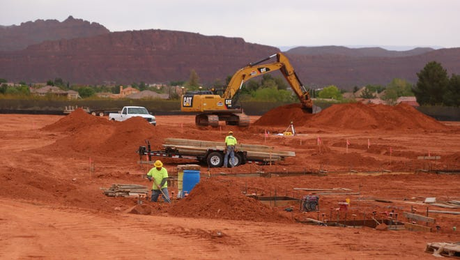 Construction has started on the Rocky Vista University College of Osteopathic Medicine-Southern Utah branch in Ivins, Utah.