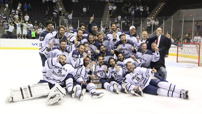 Five months ago, the Pensacola Ice Flyers were celebrating their third championship in the past four years. The team began training camp Wednesday.