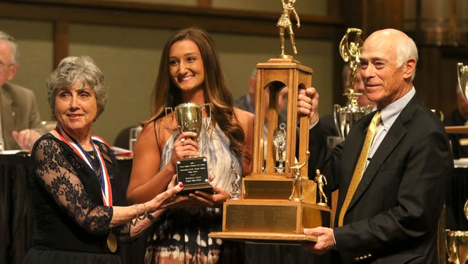 Pisgah senior Brooklyn Allen was one of the winners at Sunday night's WNC Sports Awards Banquet in Asheville.
