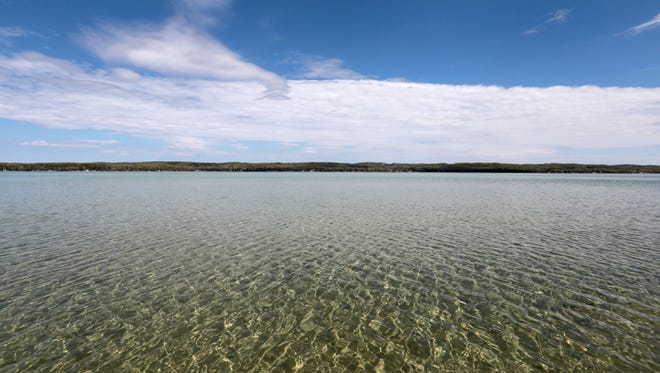 View of Torch Lake.