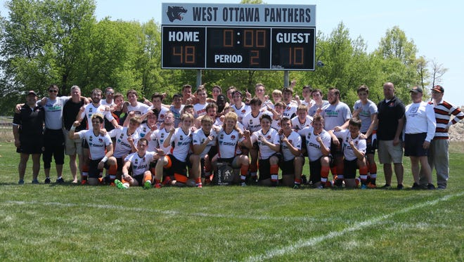 The Brighton rugby team won its fourth state title by defeating Howell, 48-10, last weekend
