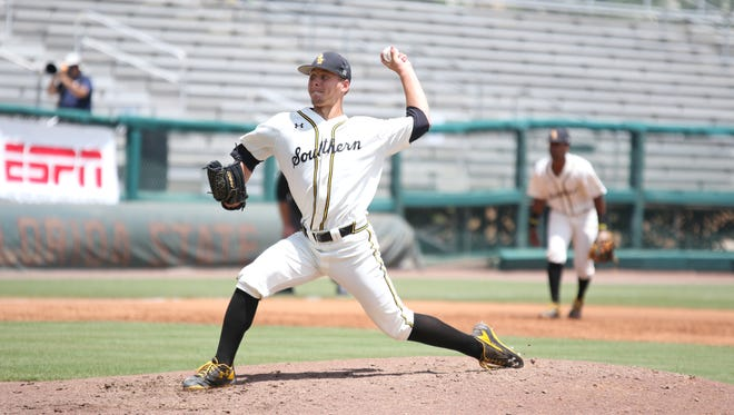 Southern Miss' Kirk McCarty pitched six scoreless innings Friday against South Alabama.