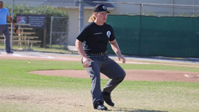 Jen Pawol, 39, becomes the seventh female minor league umpire since 1972. She is slated to work two Gulf Coast League games in Fort Myers, July 12-13.