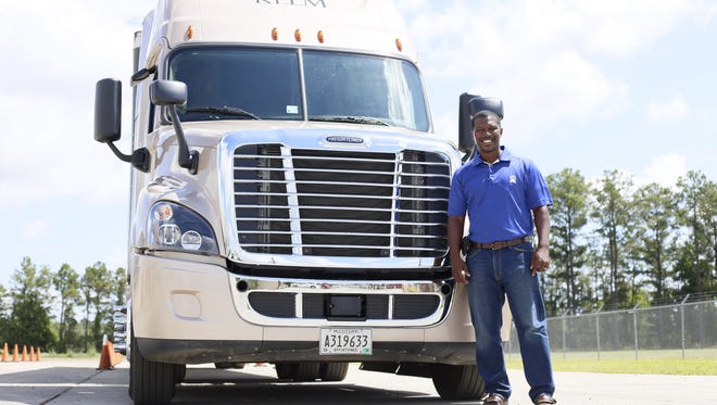 Andre Cooper has been an instructor at KLLM Driving Academy 2 1/2 years after 12 years as a truck driver.