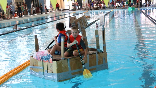 The Cardboard Regatta will be held Aug. 27 at the Aquatics Training Center.