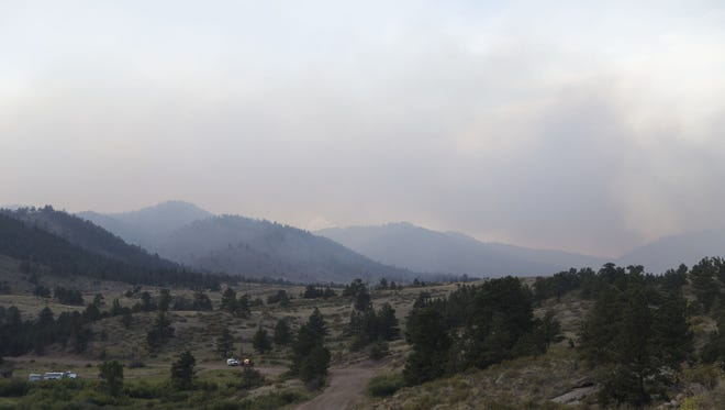 Firefighters battling the Starwood Fire in northern Larimer County will face tough conditions Wednesday.