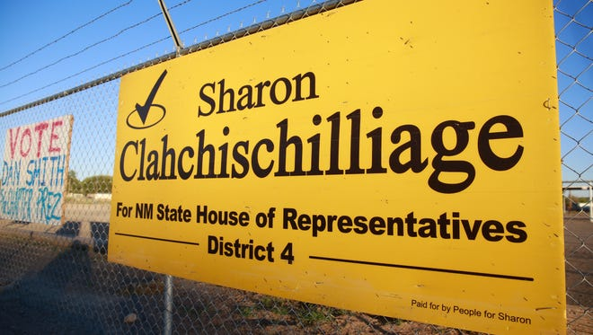 Incumbent state Rep. Sharon Clahchischilliage is trying to reclaim her District 4 seat by fending off a challenge from Democrat GloJean Todacheene.