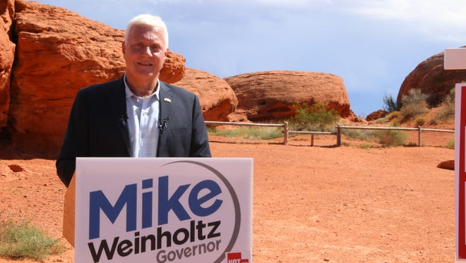On Thursday, Sept. 29, 2016, Gubernatorial candidate Mike Weinholtz discussed his conservation plans  for Utah if elected.