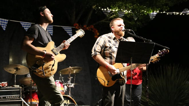 Local bands, breweries and vendors gather for the 2016 Zion Rocktoberfest in Springdale on Oct. 8.