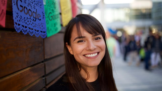Google employee Suzanna Bobadilla wants to encourage more Latinos to pursue career paths in the tech industry.