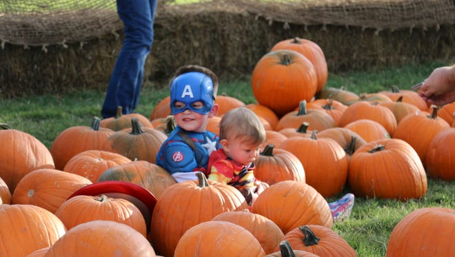 The Haunted Pumpkin Patch at the Old Fort Bliss Replica is one of many Halloween events at the installation.