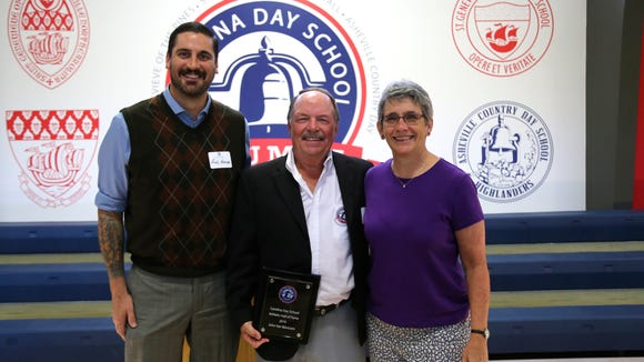 Carolina Day recently added three individuals to its athletic hall of fame. The induction ceremony took place Oct. 15 for Joanne Bartsch, John Van Blaricom and Amy Sharpe Clifford.