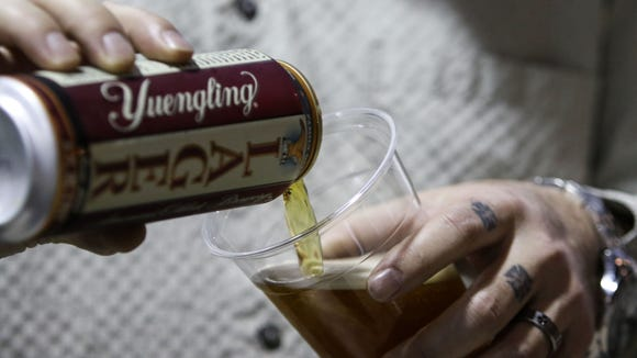 Some Yuengling drinkers set down beer over Trump endorsement