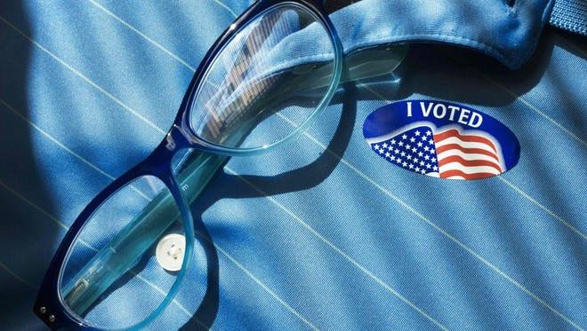 "'I Voted"" sticker"