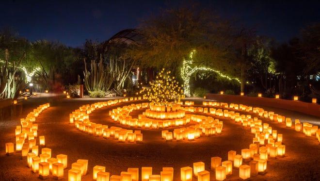 Las Noches de Las Luminarias returns to Desert Botanical Garden on Nov. 25.