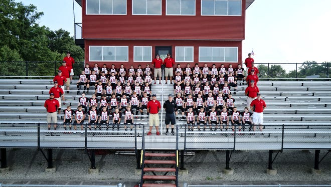 The Pleasant fourth, fifth and sixth grade football teams all won championships this fall.