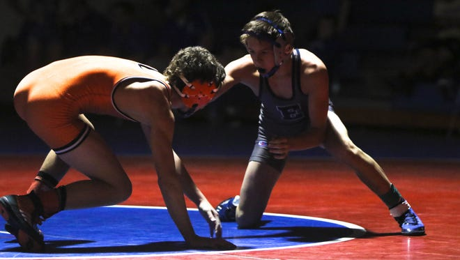 Corbin Dion of Enka won his weight class (106 pounds) Saturday at West Henderson's Falcon Frenzy tournament.