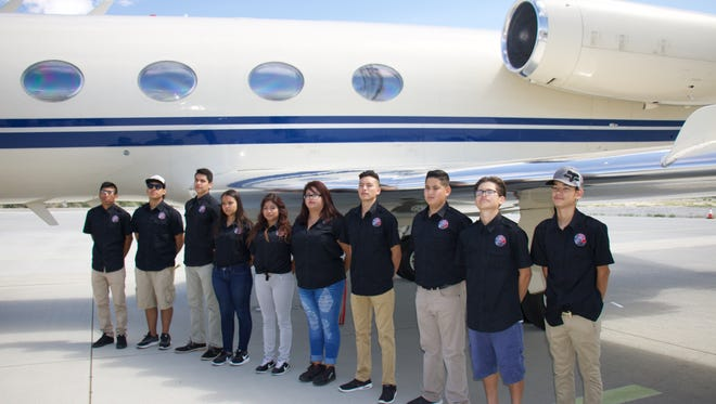 Students in Desert Mirage High School's Aviation Academy get a real-world view of aviation careers through access to the Jacqueline Cochran Discovery of Flight and Education Center in Thermal.