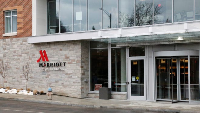 The Ithaca Marriott Downtown on the Commons opened Monday.