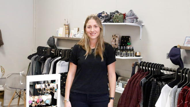 Laura Bishop, 30, of Homer, opened Willow at 111 W State Street in Ithaca. She previously owned a store in Cortland for four years.