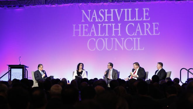 Nashville Health Care Council Luncheon on January 19, 2017 in Nashville, TN.