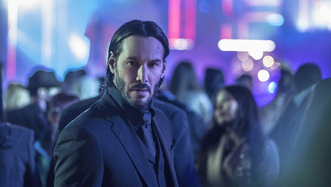 Keanu Reeves reprises his role as a stylish assassin in 'John Wick: Chapter 2'