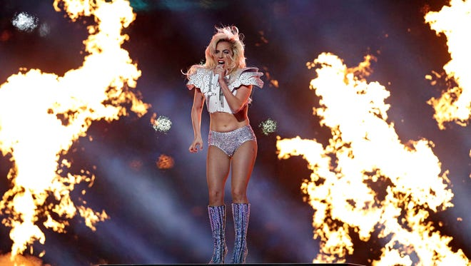 Yep. Some would say that Lady Gaga's halftime show was on fire.