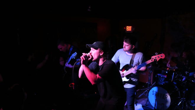 """Shine Bright performs its final show of the """"Live Free"""" tour at Jazzy Java's Rock n Roll Grill on Feb. 18, 2017."""