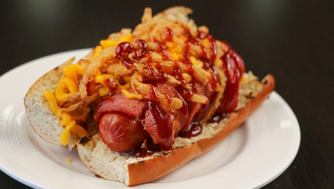 The Dinger Dog will debut at Fox Cities Stadium at the Timber Rattlers' season opener.
