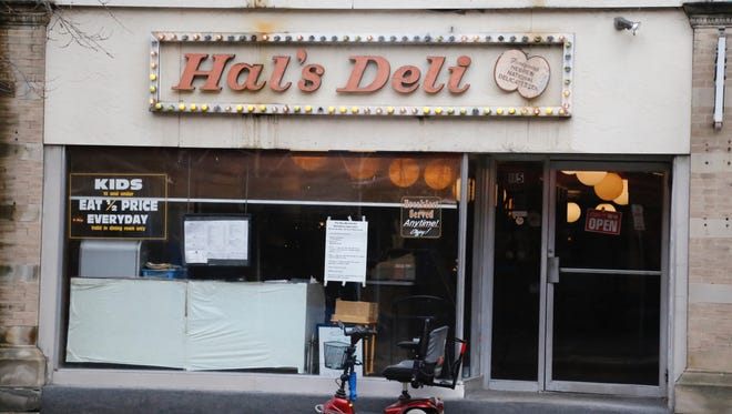 Hal's Deli will close in May.