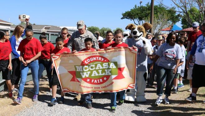 The annual MCCASA Walk will be held April 8 at Biggs Park.