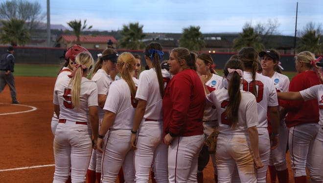Dixie State held on to beat SUU 5-4 at Karl Brooks Field, Wednesday March 22, 2017. The Trailblazers now hold a 15-9 edge in the all-time series.