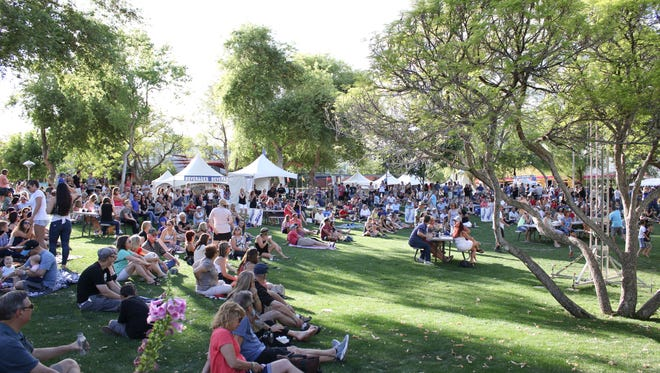 The Scottsdale Culinary Festival returns to Scottsdale Civic Center on April 8-9.