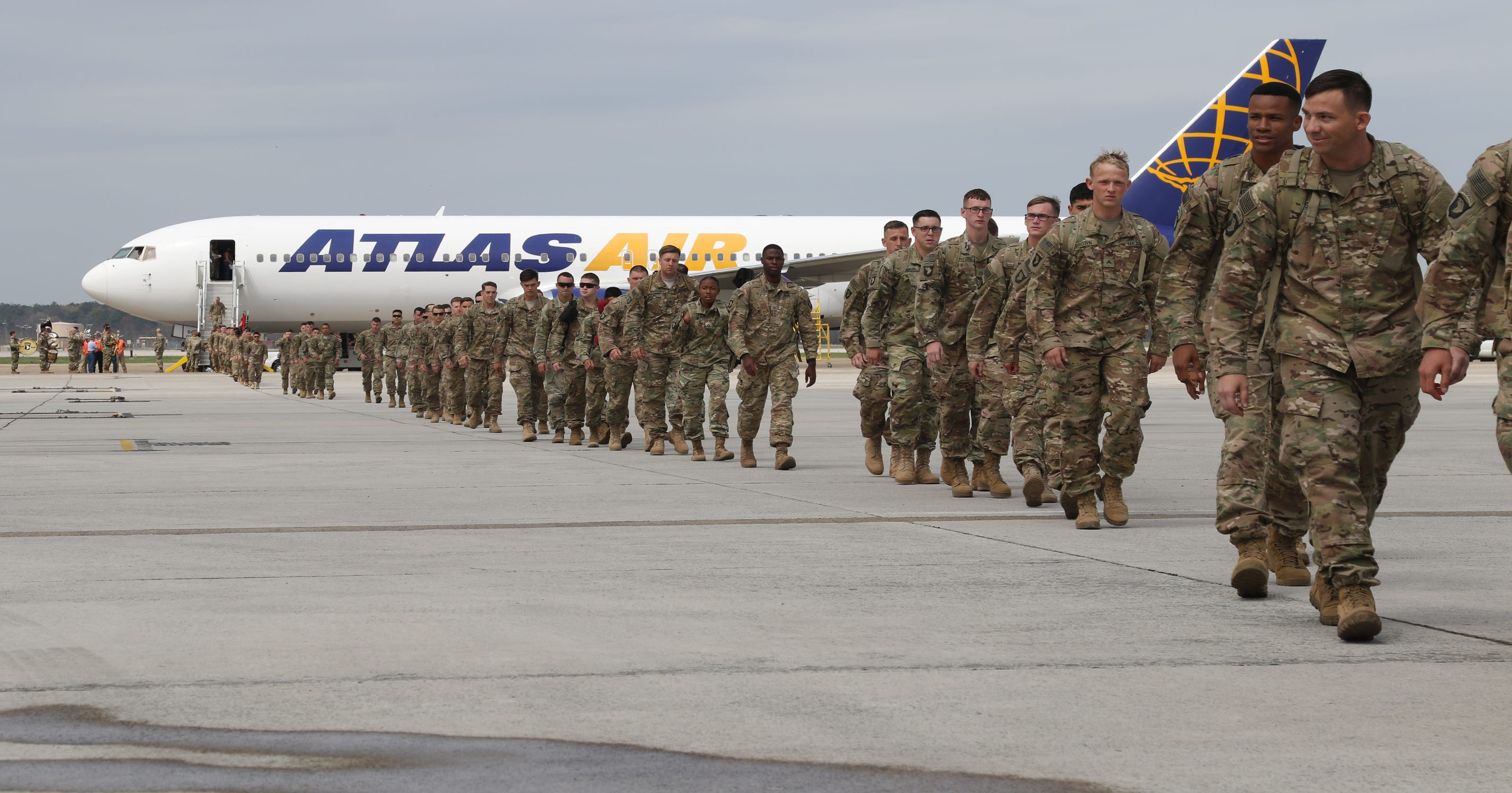 Fort Campbell's 101st Airborne, 1st Brigade Combat Team to