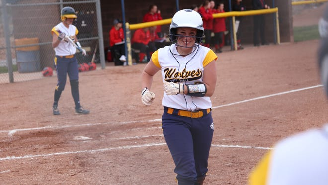 Enterprise defeated Milford 16-0 in a mercy-shortened game as the Wolves stayed perfect in region play with a big home win Tuesday.