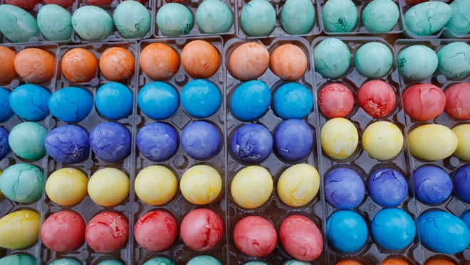 Decorating eggs for Easter likely dates back to at least the 13th century.