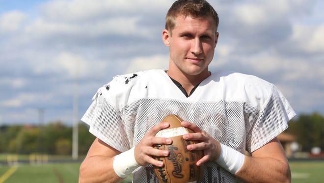 A high school quarterback at Rochester Adams, Matt Sokol is Michigan State's top returning tight end as a junior this fall.
