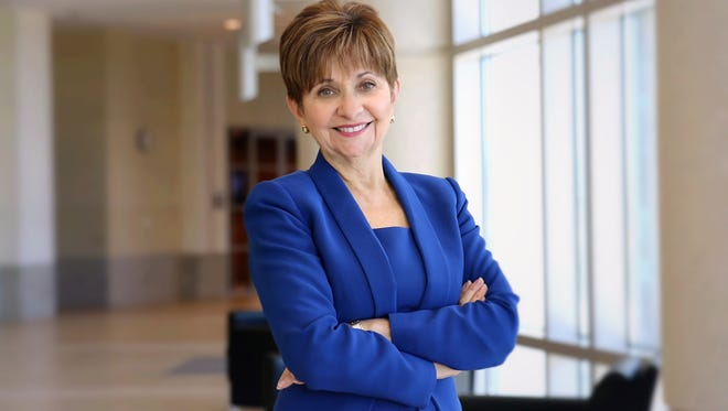 Dr. Deborah German is the founding dean of the University of Central Florida's medical school.