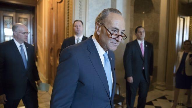 Senate Minority Leader Chuck Schumer, D-N.Y.