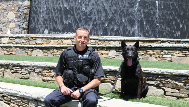 Leo, a K9, is the newest member of the Greenville Police Department.