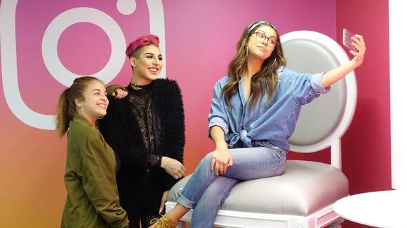 Instagram stars Baby Ariel, Keanu Balani and Andrea