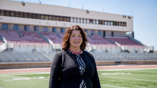 Southern Utah University athletic director Debbie Corum is working on getting more exposure for her programs.