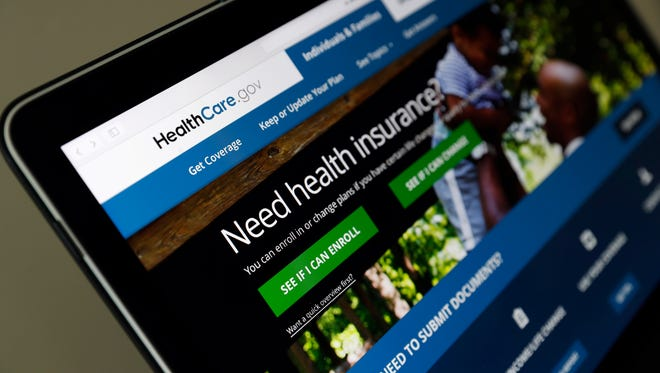 The Healthcare.gov website is seen on a laptop computer, Thursday, May 18, 2017, in Washington.