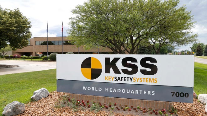 This Sunday, June 25, 2017, photo shows the Key Safety Systems headquarters in Sterling Heights, Mich. Japanese air bag maker Takata Corp., the company at the center of the world's biggest automotive recall, has filed for bankruptcy protection as it struggles to supply replacements for faulty air bag inflators linked to the deaths of at least 16 people. Takata's filings in the U.S. and Japan on Monday cleared the way for a $1.6 billion takeover of most of Takata's assets by rival Key Safety Systems. (AP Photo/Paul Sancya)