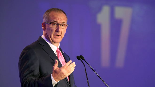 Greg Sankey said he's stepped away from his role as chairman of the NCAA's committee on infractions.
