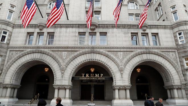 Trump International Hotel in Washington.